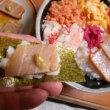 #朝飯豪華ちらし寿司!!!
