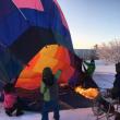 冬のお勧めツアー  十勝の空を気球で散歩
