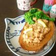 angiee♡さんのレモンとお塩で食べる納豆、玄米トースト ♪