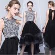 黒ドレスは、デザインの形によって大きく印象が変わります