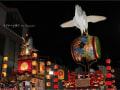 夜の人形山車 ~'とちぎ秋まつり'にて