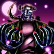 【今日のイラスト】ラフカディオ・ウォーレンの怪物
