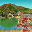 三保ダム  丹沢湖