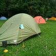徳沢でキャンプ