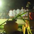シラヤ族の夜祭り