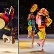 沖縄エイサーと花笠踊り(伊勢 神嘗祭・祭のまつり)