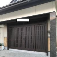 玄関の入れ替え工事