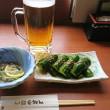 「あぐろの湯「本家さぬきや」!!「生ビール」!!