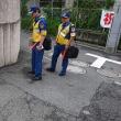 清掃事務所が、不法投棄パトロールを開始(北新宿1丁目)