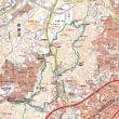 柚木城山登山と石内東そらの団地散策(1)  MAP & 概要