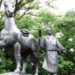 山内一豊の妻像(高知城)