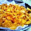 安納芋の芋チップを作った ポテトと違いコクがあった。 台風が心配!!!