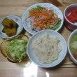 ソーセージのポトフ風の夕ご飯