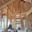 Youの自由な家プロジェクト!いすみ市『 岬町中滝 Mさんの家 』⌂Made in 外房の家。は上棟後の大工工事順調進行中!&電気配線現地打合せ完了!です。