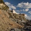 「ふしぎな岬」の台風被害