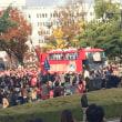 広島東洋カープ優勝パレードin平和記念通り