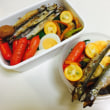 鮭弁当と赤ウインナー弁当