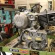 190ccエンジンのクランクケース交換