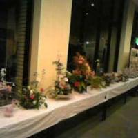 センター祭 フラワー展示