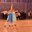 小学生女の子ペアの社交ダンス。オリンピック種目になったらいいな。【福岡子供ジュニアジュビナイル、ボールルームダンススクールはダンススクールライジングスター 】