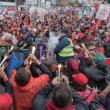 米UTLA3万人がスト 「闘って公教育を守り抜く」