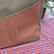 110センチの帆布で、トートバッグ2つ&インナーバッグの完成(^^♪