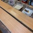 ブラックチェリー150S挽き板フローリング/オスモカラー塗装仕上げ