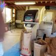 籾摺りと稲刈り