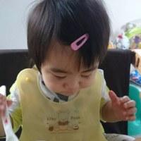 1歳1ヶ月の孫たんの様子