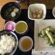 4月16日の日替り定食(550)は、鶏の青のり天ぷら です。