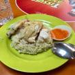 シンガポールで海南鶏飯..