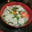 (フアン3号)   七草かゆ昨日食べました。
