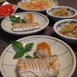 太刀魚の塩焼き♪ レンコンとチーズのぱりぱり