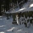 比叡山で雪道歩きを思い出す
