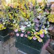 慰霊祭のお花。