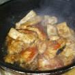 豚肉の味噌煮込み♪