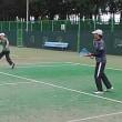 20170815記録(kata54)、朝テニス出来!