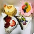 久々にケーキ!