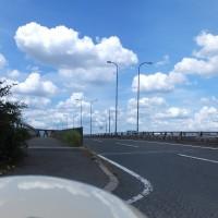 大阪貨物ターミナル駅出口付近