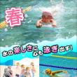 春休み短期水泳教室の申込みを開始しました!