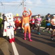 暑すぎた! 小布施見にマラソン。