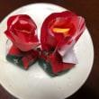 赤(林檎と和菓子)