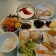 朝食バイキング  (初日)
