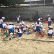 1年生砂遊び