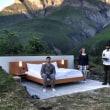 世界初 スイスで屋根のないホテルがオープン
