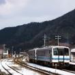 晴れた冬の日は、三江線