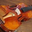 ヴァイオリンを貸していただきました