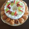 お誕生日ケーキ出来ました🙆