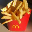"""久々に食べる マクドナルドの""""""""ポテト""""""""がおいしいな~~"""