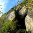 愛知県新城市川合の渓谷美と奇岩が織りなす絶景「乳岩と乳岩峡」